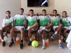 2020 Davis Cup WG I Playoffs BOL v DOM Equipo Bolivia  by Olga Almánzar (4)